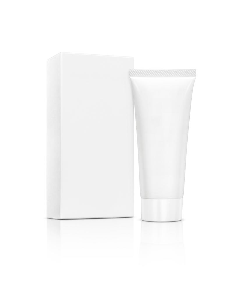 White Cream Box
