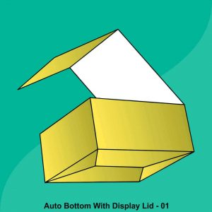 Auto Bottom With Display Lid Boxes
