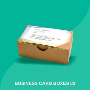 personalized business cards Packaging