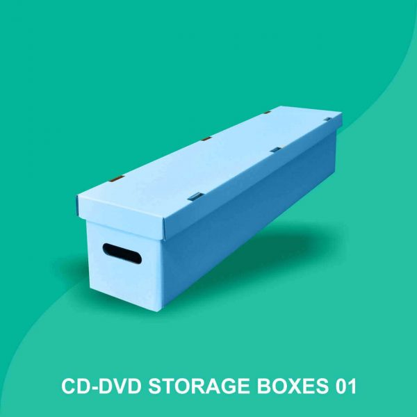 Custom CD-DVD Storage Boxes
