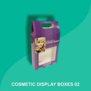 Cosmetic Display Packaging Boxes