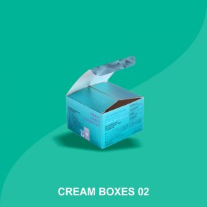 Cream Packaging Boxes