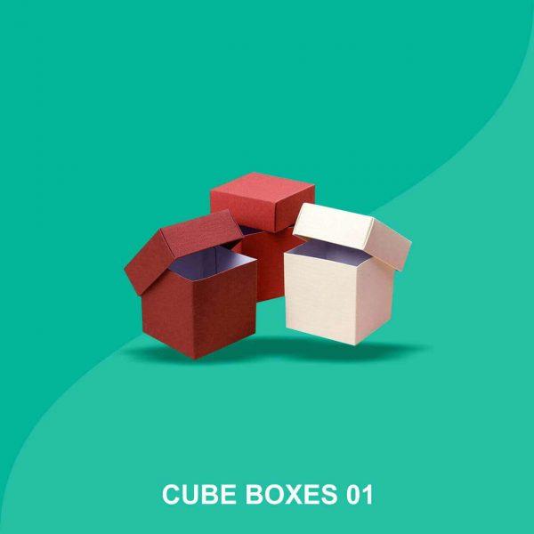Custom Cube Boxes