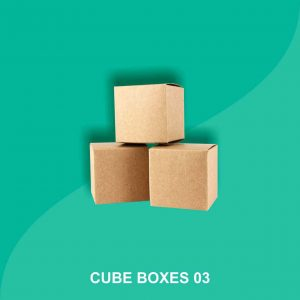 cube cardboard boxes