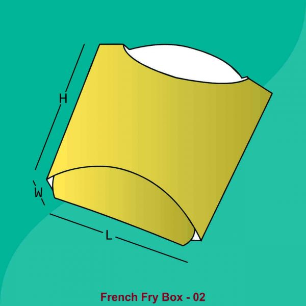 Custom French Fry Boxes