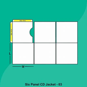 Six Panel CD Jacket