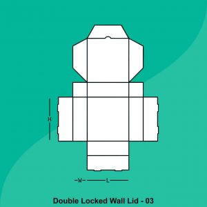Custom Double Locked Wall Lid Boxes