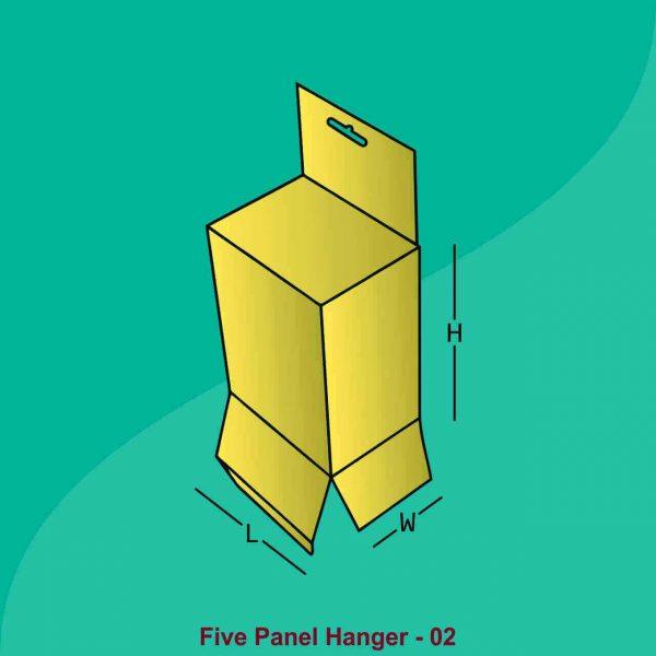 Custom Five Panel Hanger Boxes