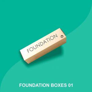 custom printed foundation boxes