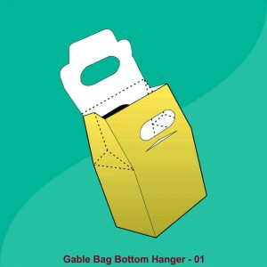 Gable Bag Bottom Hanger Boxes