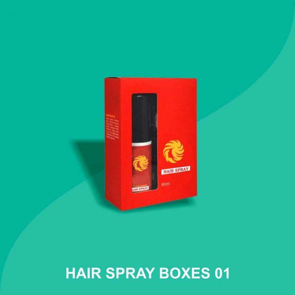 Hair Spray Boxes