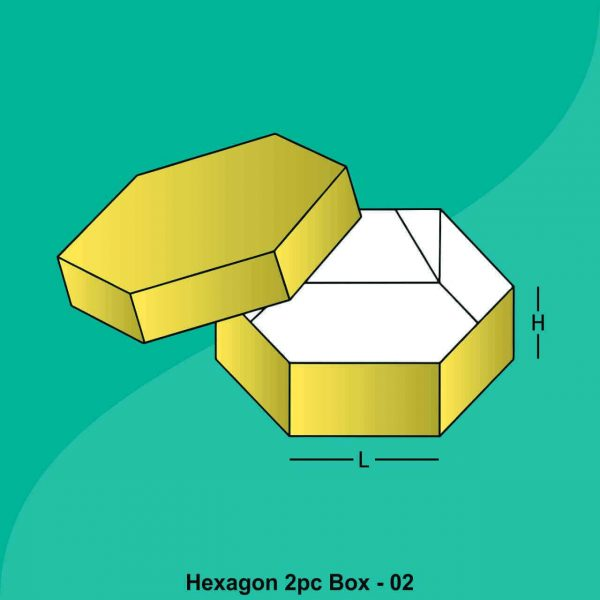 Hexagone Two Peice Boxes