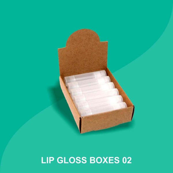 Custom Lip Gloss Boxes