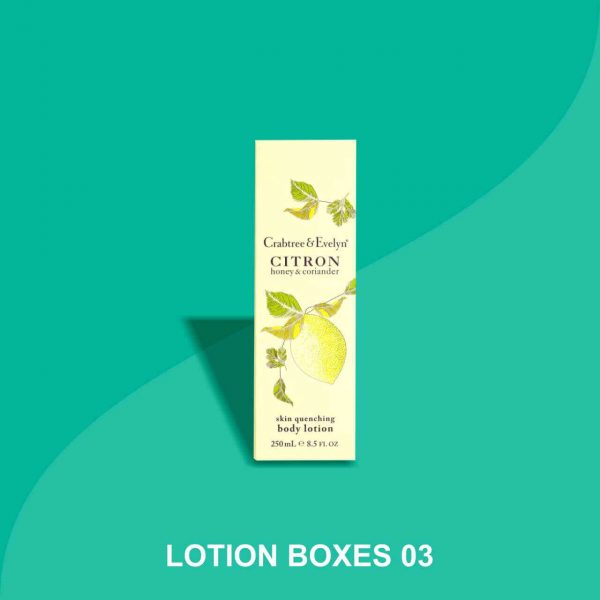 Lotion Packaging Boxes