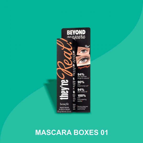 Custom mascara packaging