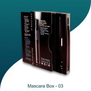 mascara box packaging