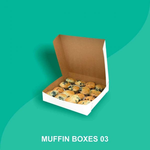 Cardboard Muffin Packaging