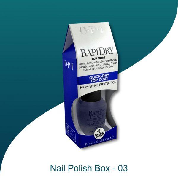 Nail paint boxes