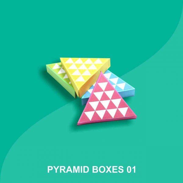 Custom Pyramid Boxes