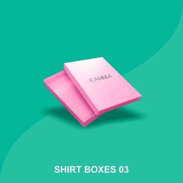 cardboard shirt boxes
