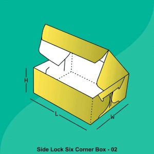 Custom Side Lock Six Corner Boxes
