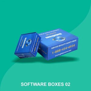 Cardboard Software Boxes