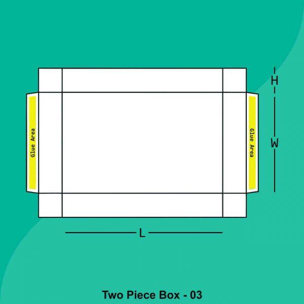 Fold & Assemble Two Peice Boxes