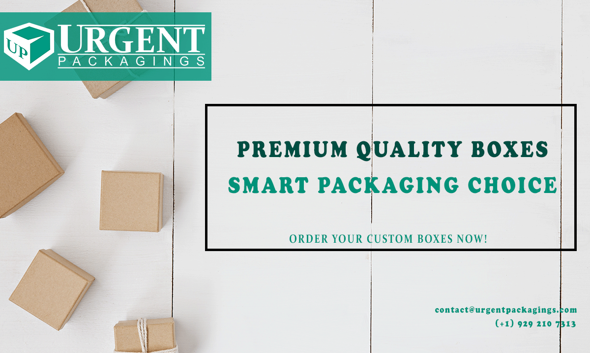 Custom Packaging and Custom Retail Boxes | Urgent Packagings