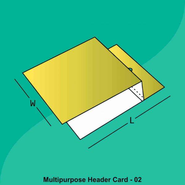 Multi Purpose Header Card