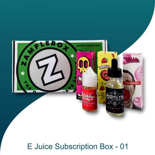E-Juice Subscription Boxes
