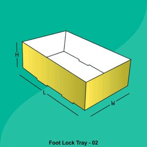 Foot Lock Tray