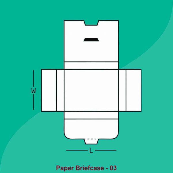 Paper Briefcase