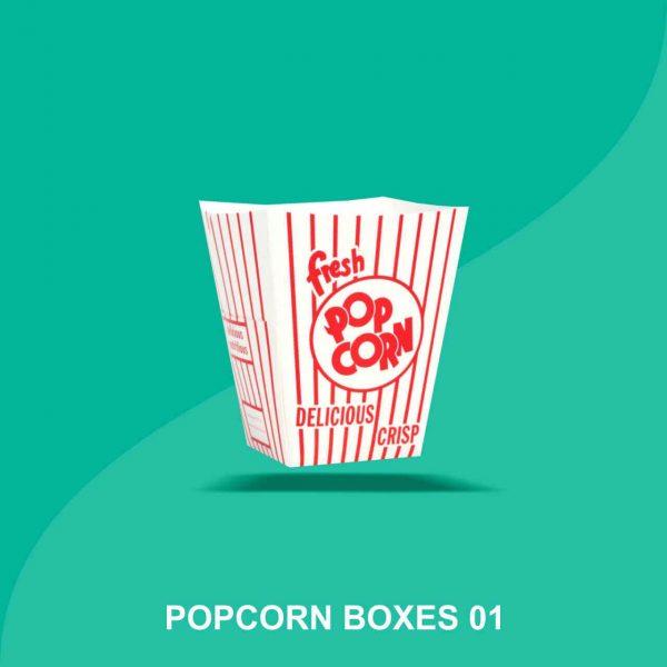Custom Pop Corn Boxes