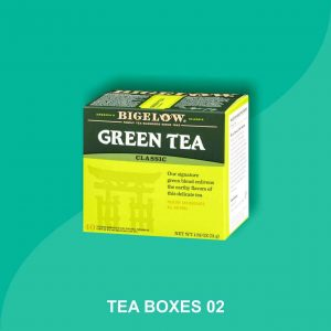 custom tea box packaging