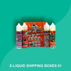 Custom E-juice Shipping Boxes