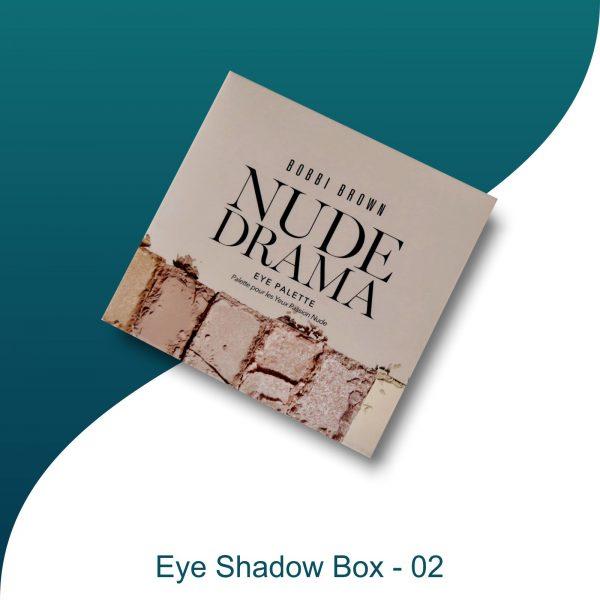 cardboard eye shadow palette packaging