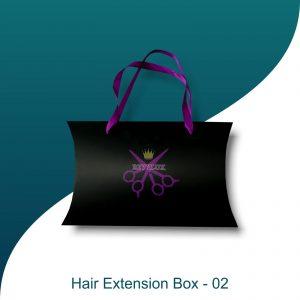 custom hair extension boxes