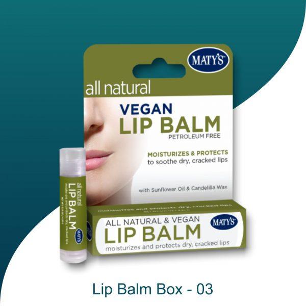 Lip Balms box